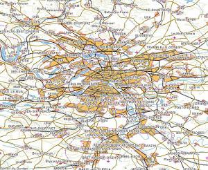 ベクターデータサンプル(フランス・パリ)