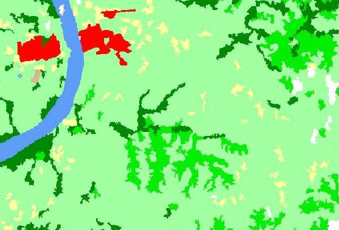 ワールドワイド ランドカバー GISデータ