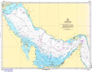 ペルシャ湾海図